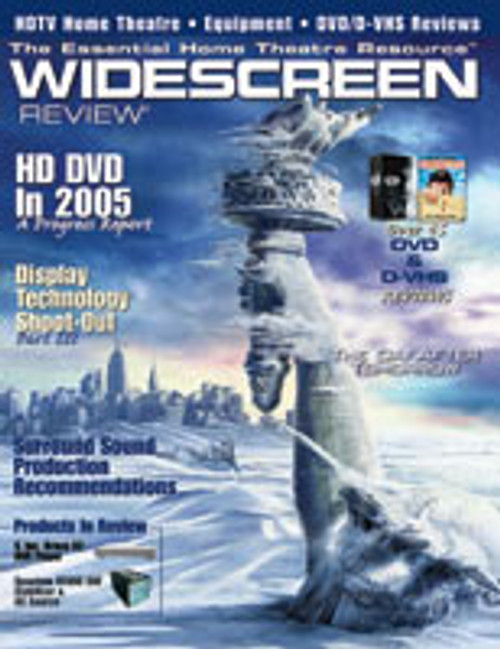 Widescreen Review Issue 090 - The Day After Tomorrow (November 2004)