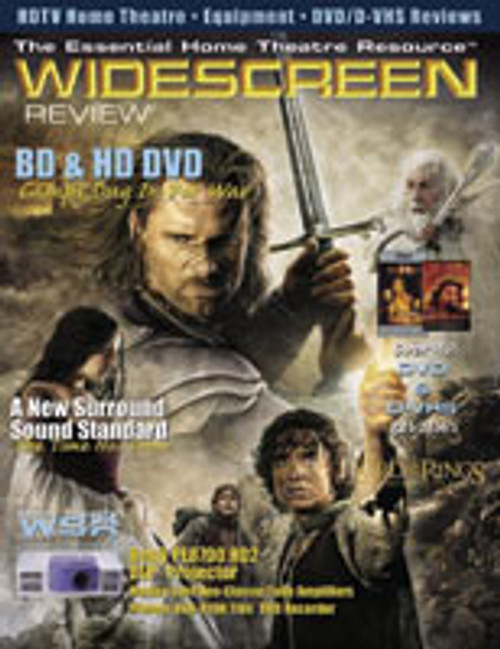 Widescreen Review Issue 085 - Lord Of The Rings: The Return Of The King (June 2004)