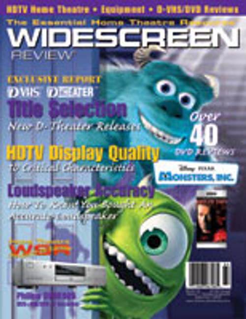 Widescreen Review Issue 064 - Monsters, Inc. (September 2002)