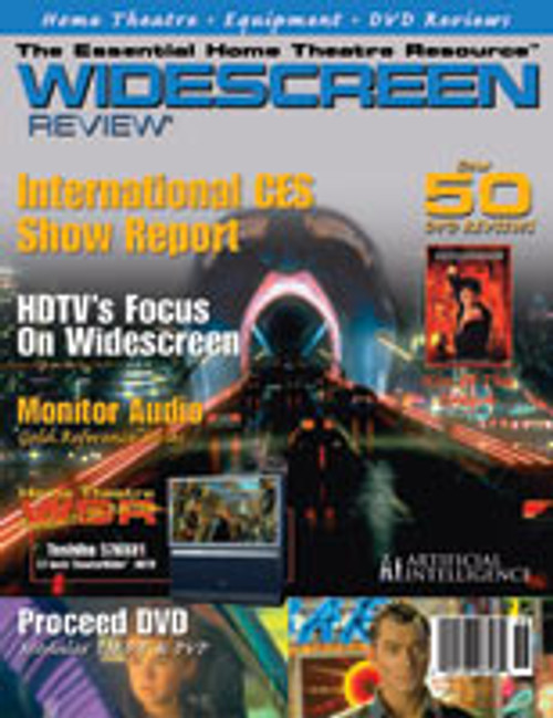 Widescreen Review Issue 058 - Artificial Intelligence (AI) (March 2002)
