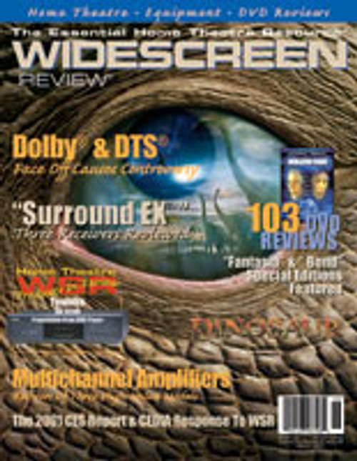 Widescreen Review Issue 046 - Dinosaur (March 2001)