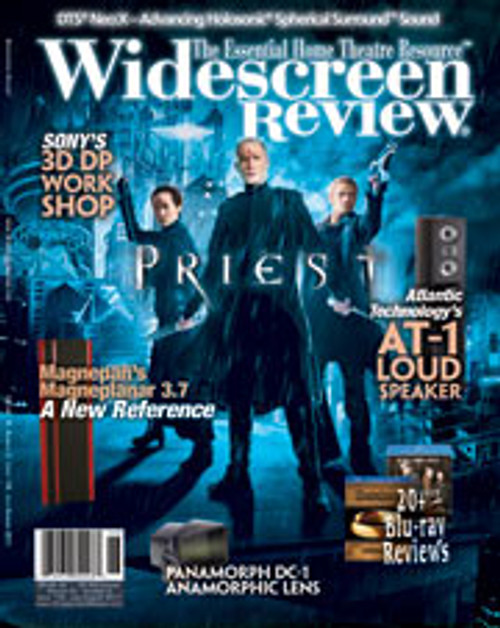 Widescreen Review Issue 158 - Priest (July/August 2011)