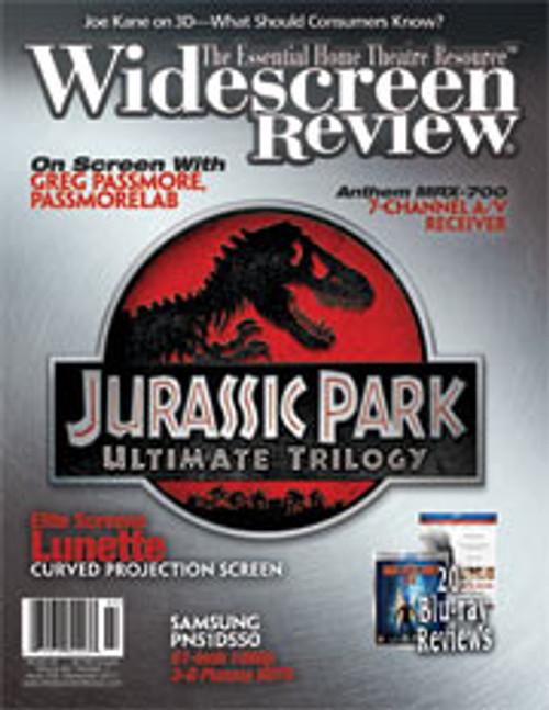 Widescreen Review Issue 159 - Jurassic Park (September 2011)