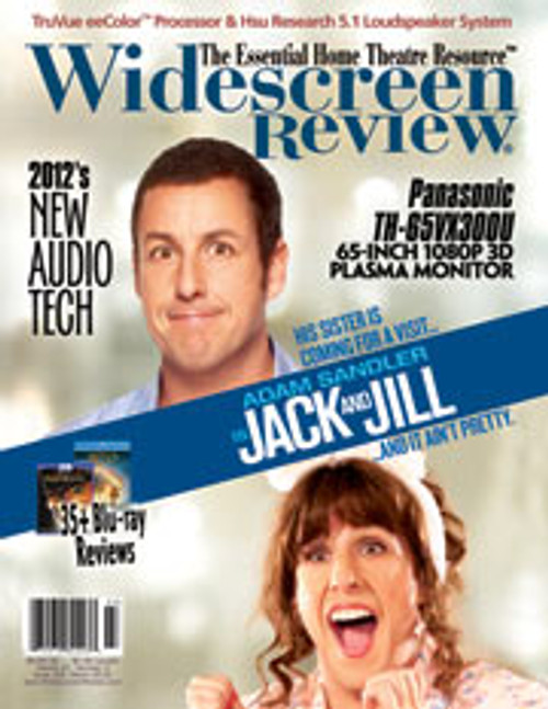 Widescreen Review Issue 165 - Jack & Jill (March 2012)