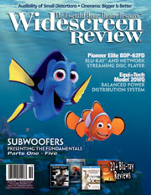 Widescreen Review Issue 172 - Finding Nemo (December 2012)