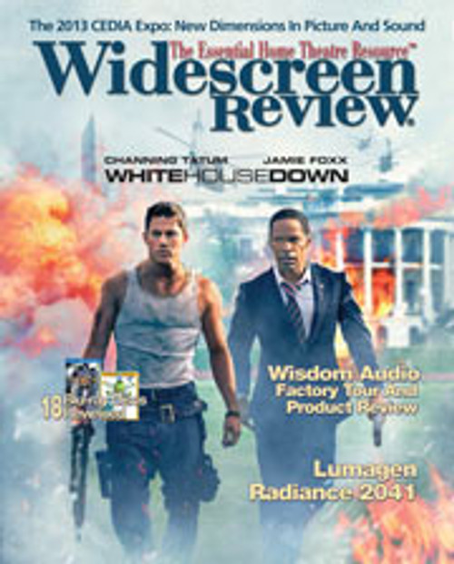 Widescreen Review Issue 181 - White House Down (November 2013)