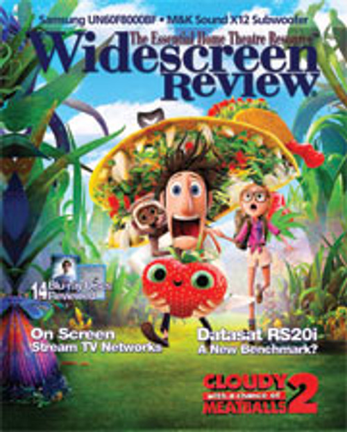 Widescreen Review Issue 183 - Cloudy With A Chance Of Meatballs 2 (January 2014)