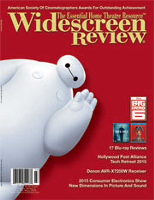 Widescreen Review Issue 195 - Big Hero 6 (March 2015)