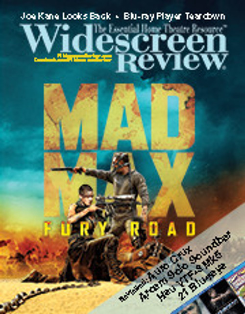 Widescreen Review Issue 199 - Mad Max: Fury Road (September 2015)
