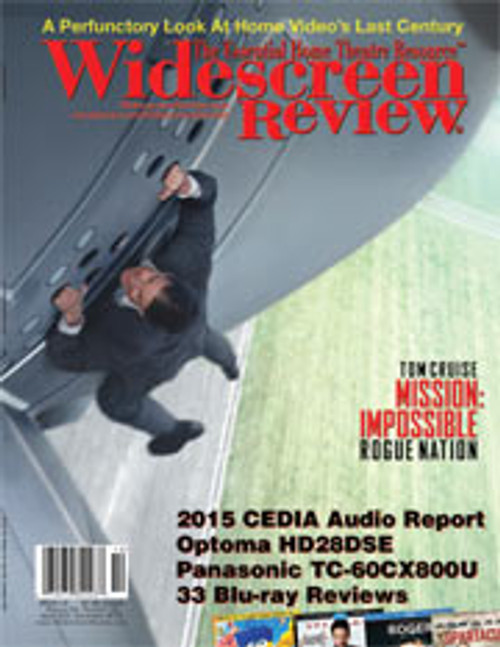 Widescreen Review Issue 202 - Mission Impossible: Rogue Nation (December 2015)