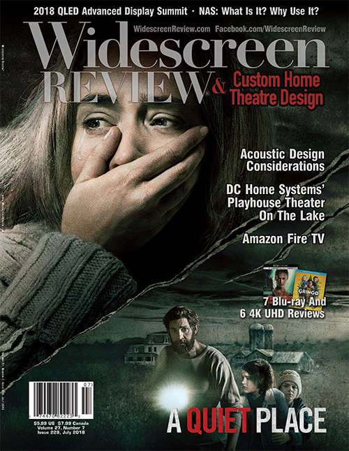 Widescreen Review Issue 229 - A Quiet Place (July 2018)