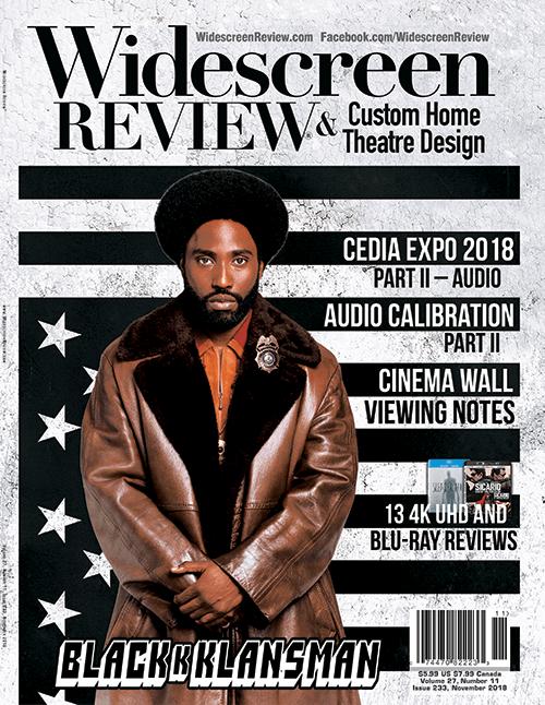 Widescreen Review Issue 233 - BlacKkKlansman (November 2018)