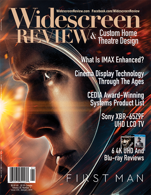 Widescreen Review Issue 235 - First Man (January 2019)