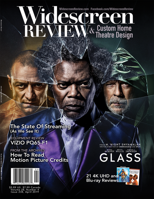 Widescreen Review Issue 238 - Glass (April 2019)