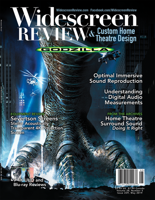 Widescreen Review Issue 239 - Godzilla (May 2019)