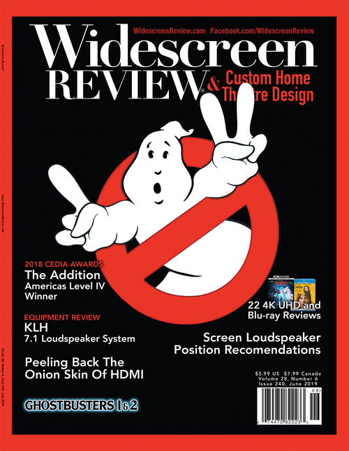 Widescreen Review Issue 240 - Ghostbusters 1 & 2 (June 2019)