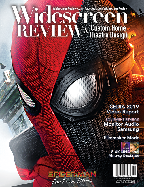 Widescreen Review Issue 244 - Spider-Man: Far From Home (October 2019)