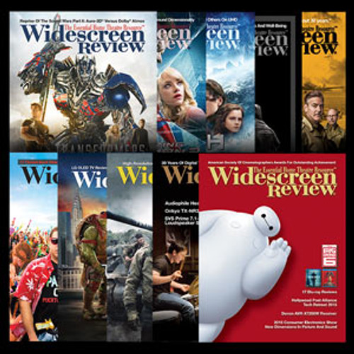 Widescreen Review Subscription (USA Residents)