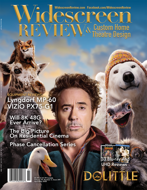 Widescreen Review Issue 249 - Doolittle (April/May 2020)