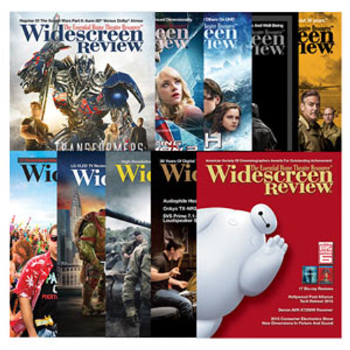 Widescreen Review Subscription (Webzine Only)