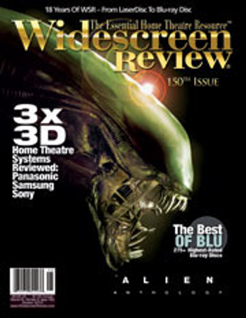 Widescreen Review Issue 150 - Alien Anthology (October 2010)