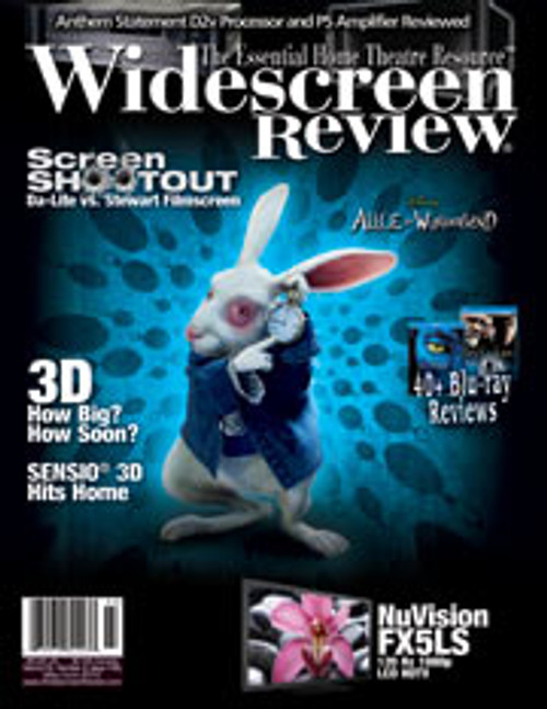 Widescreen Review Issue 148 - Alice In Wonderland (May/June 2010)