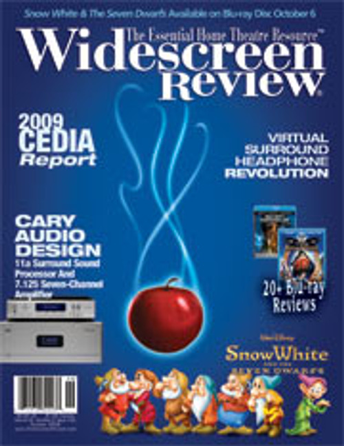 Widescreen Review Issue 143 - Snow White And The Seven Dwarfs (October 2009)