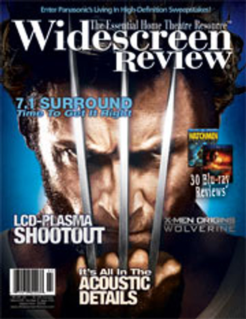 Widescreen Review Issue 142 - X-Men Origins: Wolverine (September 2009)