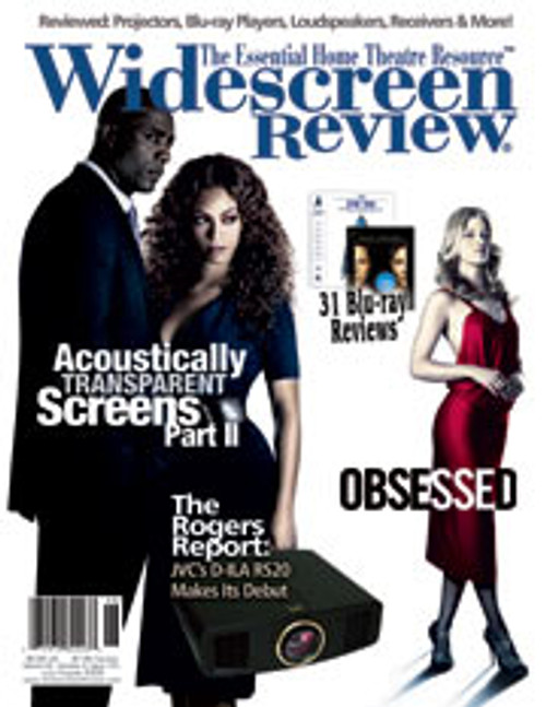 Widescreen Review Issue 141 - Obsessed (July/August 2009)