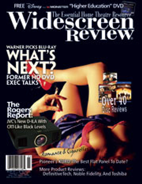 Widescreen Review Issue 129 - Romance & Cigarettes (March 2008)