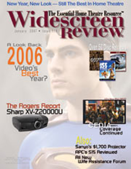 Widescreen Review Issue 116 - Superman Returns (January 2007)