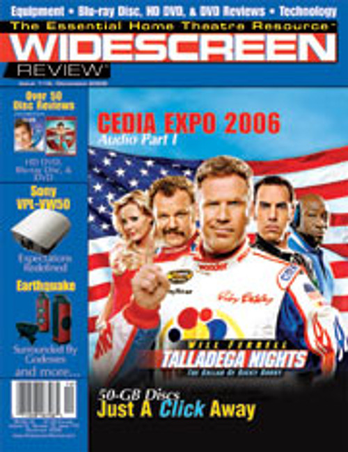 Widescreen Review Issue 115 - Talladega Nights: The Ballad Of Ricky Bobby (December 2006)