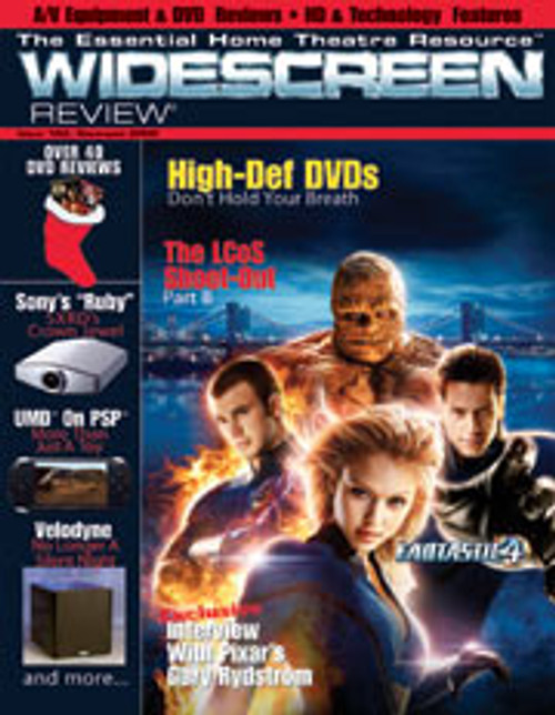 Widescreen Review Issue 103 - Fantastic Four (December 2005)