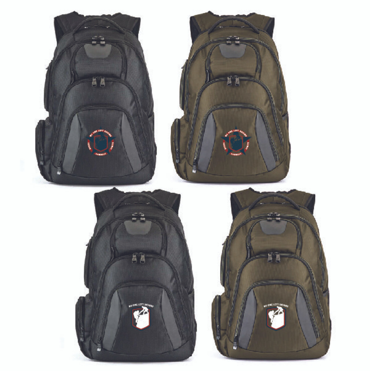 Military Veterans Basecamp® Concourse Laptop Backpack