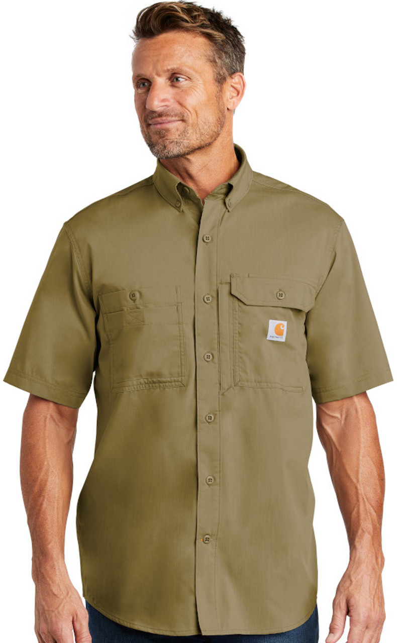 Carhartt Force ® Ridgefield Solid Short Sleeve Shirt