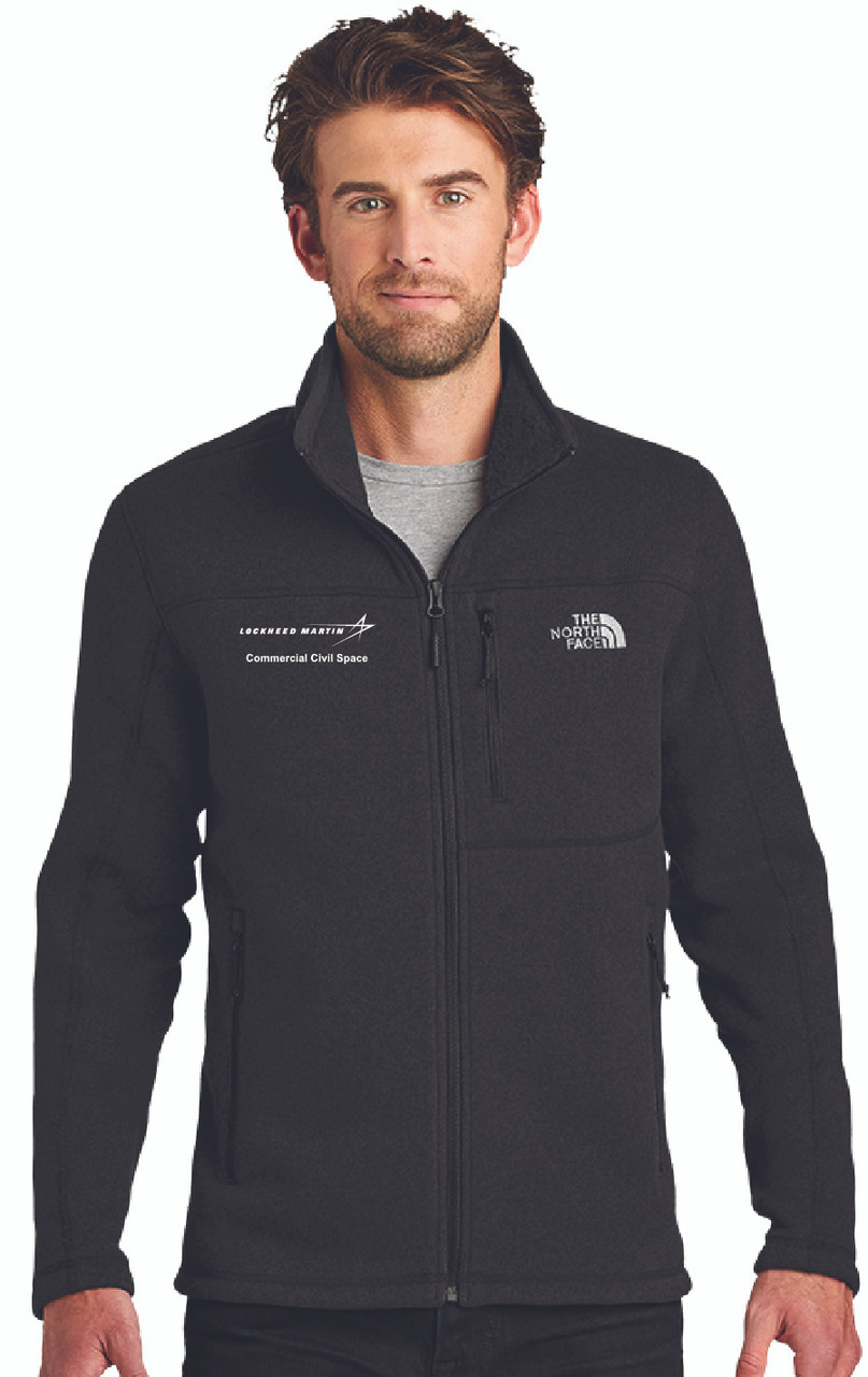 LMCO Commercial Civil Space Men's The North Face® Sweater Fleece Jacket