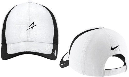Nike Golf - Dri-FIT White/Black Colorblock Cap