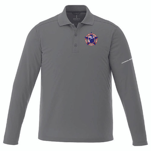 Military Veterans Men & Ladies Mori Long Sleeve Polo