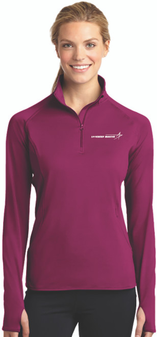 Lockheed Martin Ladies Sport-Wick® Stretch 1/2-Zip Pullover