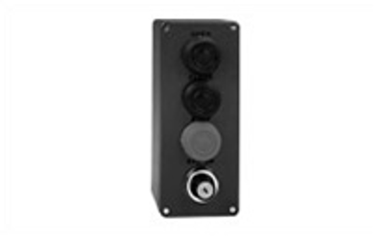 Liftmaster 02406 3-Button Outdoor Surface Mount Station with Single Key Control