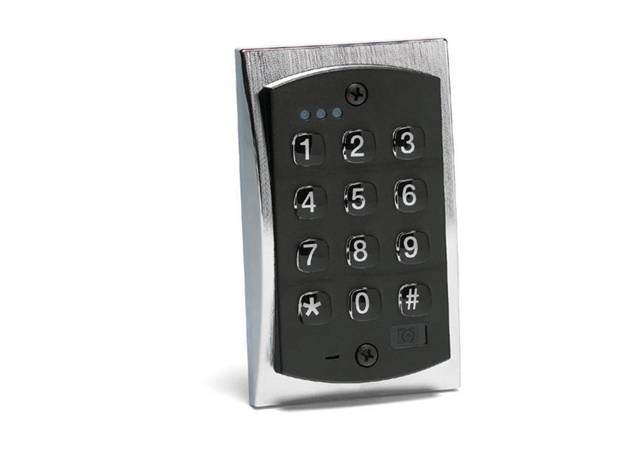 Linear 2000e Style Flush-mount Durable Metal Access Control Backlit on
