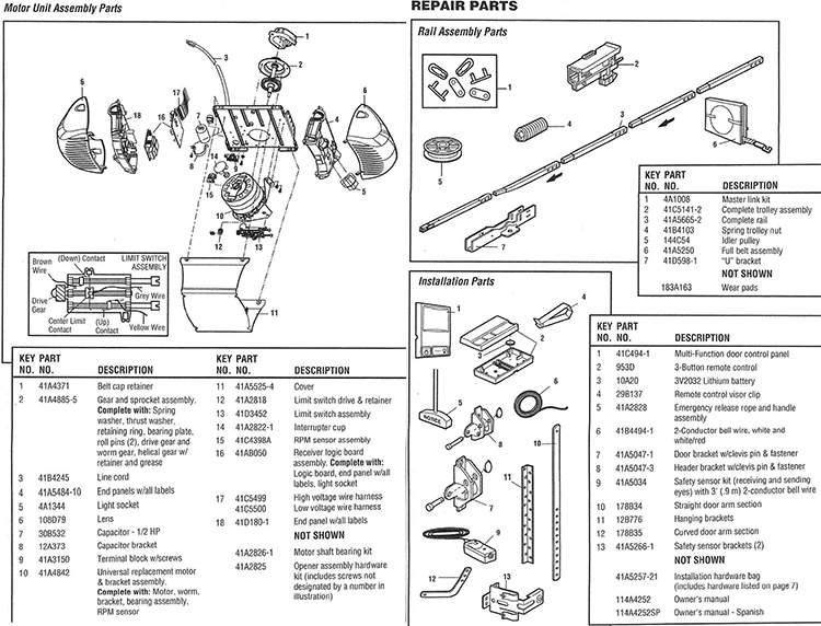 Chamberlain Whisper Drive Garage Door Opener Manual Hd600d