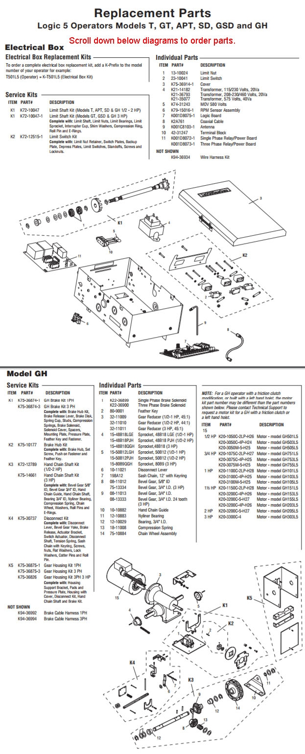 liftmaster gh wiring diagram