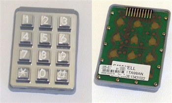 1895 017 Doorking Replacement Keypad For 1808 System