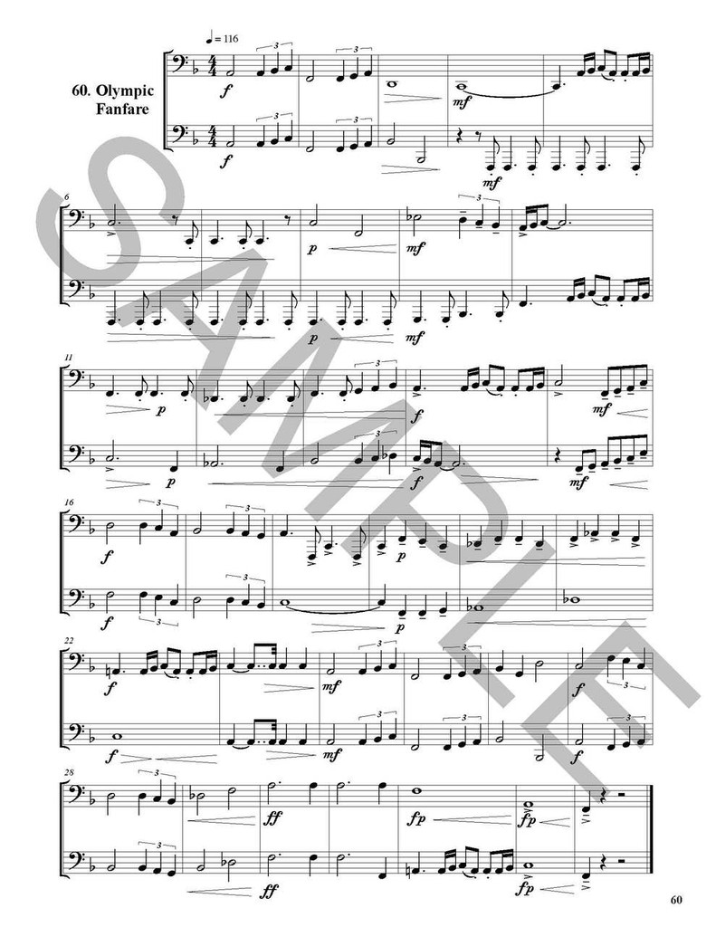 Big Book of Sight Reading Duets for Tuba: 100 Sight Reading Challenges for You and a Friend