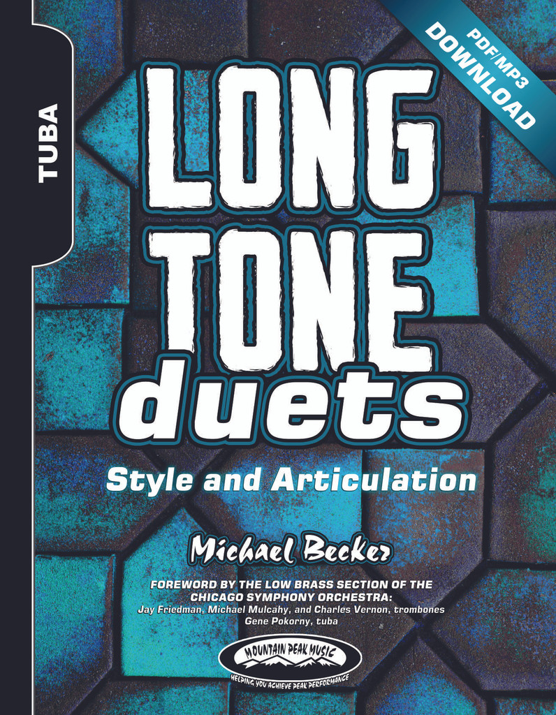 Long Tone Duets for Tuba: Style and Articulation - PDF/MP3 Download Version