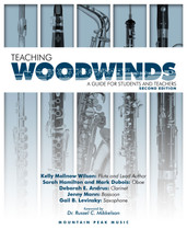 Teaching Woodwinds: A Guide for Students and Teachers - Hard Copy Version