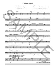 Breathing Book for Tenor Trombone
