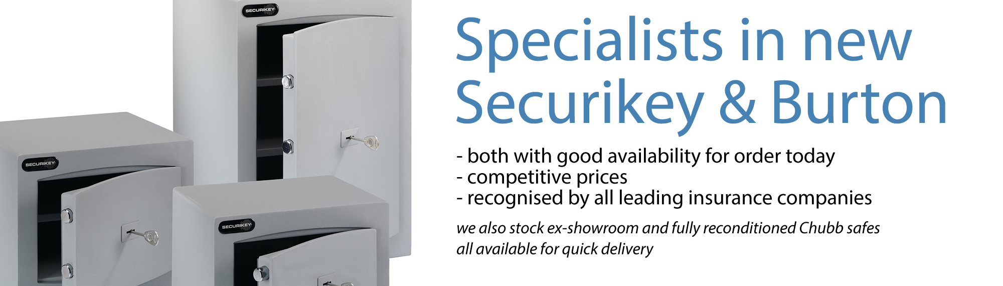Ace Safes Specialists Banner