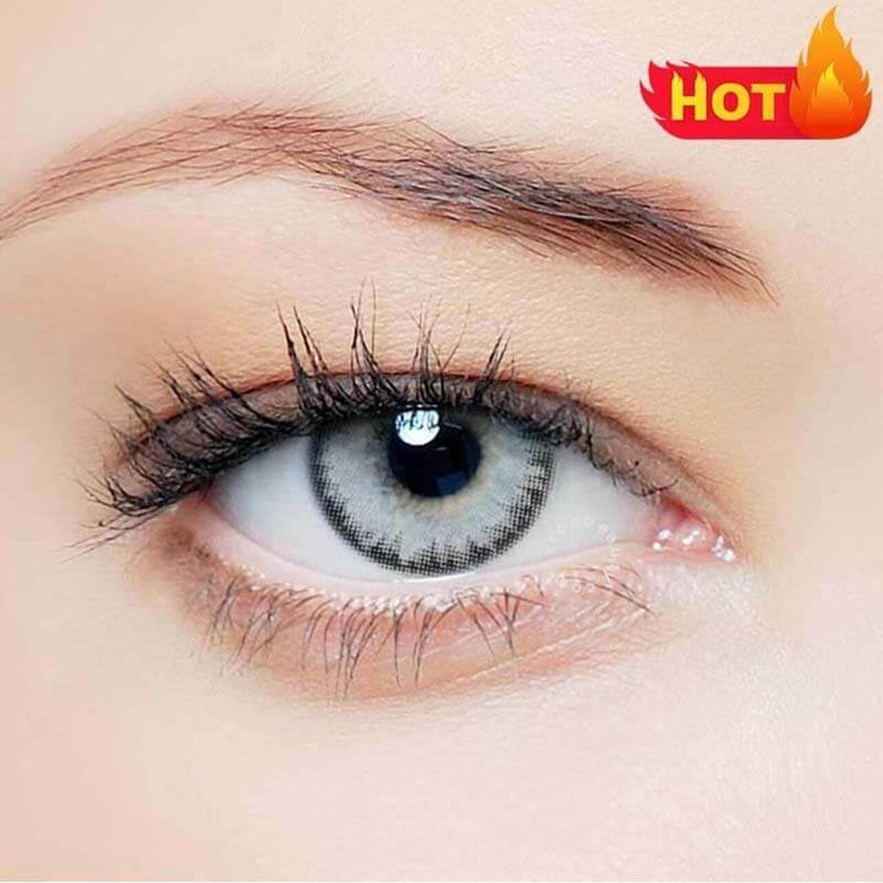 Buy Vcee Pro Grey Colored Contact Lenses Online